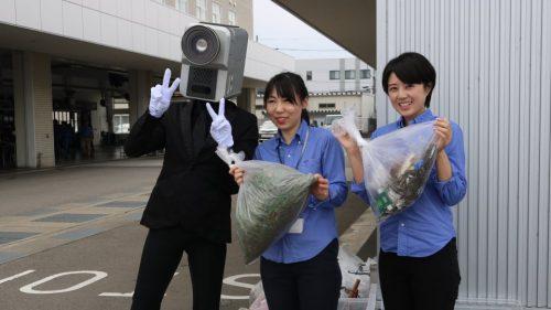 ネッツトヨタさんの「ご近所クリーン大作戦」に参加